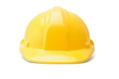Yellow hardhat Stock Photo