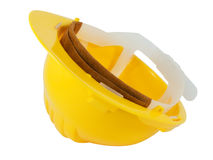 Yellow hardhat Royalty Free Stock Images