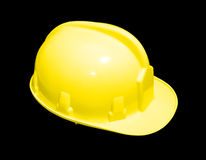 Yellow hardhat Royalty Free Stock Photo