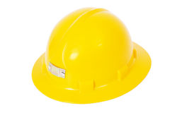 Yellow Hardhat Sideview Royalty Free Stock Photos