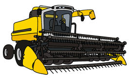 Yellow harvester Stock Photography