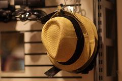 Yellow hat Royalty Free Stock Images