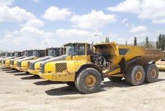 Yellow heavy construction Royalty Free Stock Photo