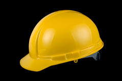 Yellow helmet Stock Photos