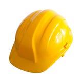 Yellow helmet Royalty Free Stock Images