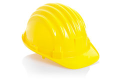 Yellow helmet Royalty Free Stock Images