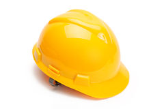 Yellow helmet Royalty Free Stock Image