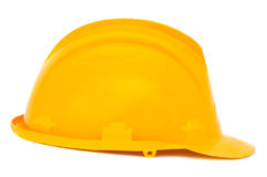 Yellow helmet Royalty Free Stock Photo
