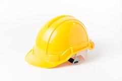 Yellow helmet engineer isolated royalty free stock image