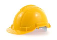 Yellow helmet Stock Photo