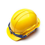 Yellow helmet Royalty Free Stock Photography