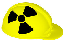 Yellow helmet Stock Image