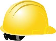 Yellow helmet Stock Photography