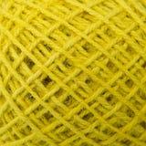 Yellow hemp roll texture. Closeup shot, yellow hemp roll texture Royalty Free Stock Image