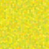Yellow hexagon background Royalty Free Stock Photos
