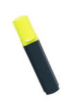Yellow highlighter Stock Image