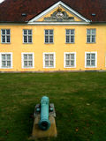 Yellow Historic Building Copenhagen Citadel Denmark Royalty Free Stock Photography