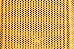 Yellow hole pattern horizontal Royalty Free Stock Image