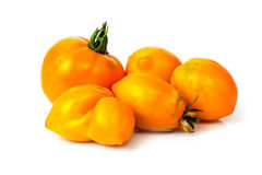 Yellow homemade Tomatoes Stock Images