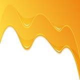 Yellow Honey Flow vector illustration