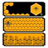 The yellow honey Royalty Free Stock Photography