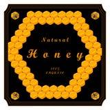 The yellow honey Stock Photo