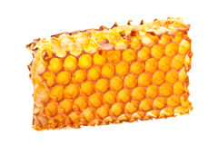 Yellow honeycomb Stock Photography