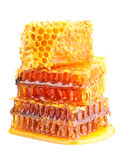 Yellow honeycomb Royalty Free Stock Images