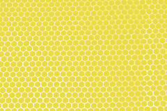 Yellow honeycombs Stock Photo