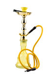 Yellow hookah Stock Photo