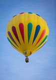 Yellow Hot Air Balloon Royalty Free Stock Image