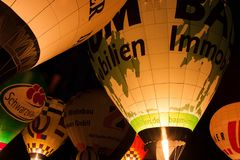 Yellow, Hot Air Balloon, Hot Air Ballooning, Light Royalty Free Stock Photography