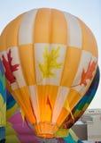 Yellow Hot Air Balloon Launching Stock Photos