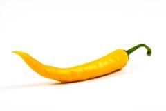 Yellow hot chili pepper Stock Image
