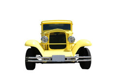Yellow Hot Rod Royalty Free Stock Images