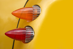 Yellow hot rod stock images