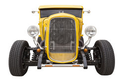 Yellow hotrod Stock Images