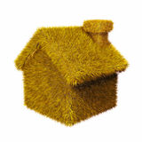 Yellow house Royalty Free Stock Photography