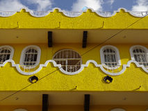 Yellow House in Chilpancingo Royalty Free Stock Image