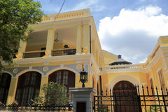 The yellow house of guangzhou diplomatic club Royalty Free Stock Photography