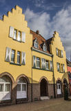 Yellow house in the old center of Xanten Royalty Free Stock Images