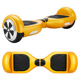 Yellow hover Board Royalty Free Stock Images