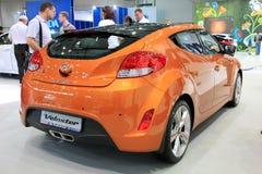 Yellow Hyundai Veloster Stock Image