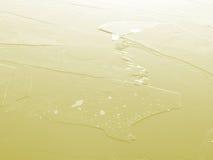 Yellow ice Stock Image