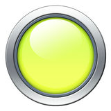 Yellow icon Stock Photography
