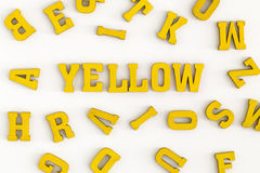 Yellow III Royalty Free Stock Images