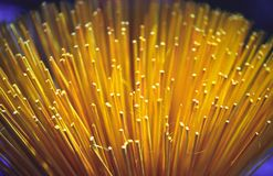 Yellow Incense. Bunch of yellow incense sticks royalty free stock images