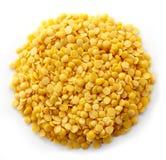 Yellow indian lentils Stock Image