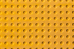 Yellow industrial surface pattern Stock Photography