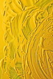 Yellow ink texture Royalty Free Stock Images